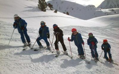 Promoción especial de clases de esquí para debutantes y acompañantes