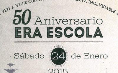 Fiesta del 50 aniversario de Era Escòla