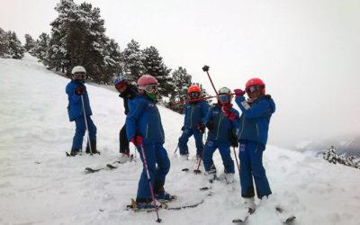 ¿Será el esquí deporte obligatorio en colegios? Sí, en el Pirineo de Lleida