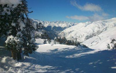 Campeonatos de España Infantiles de esquí alpino en Baqueira Beret