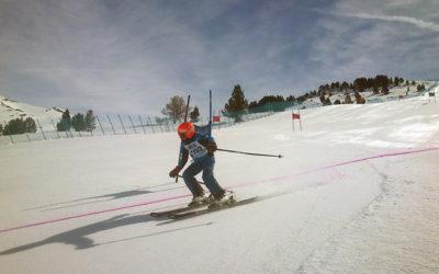Course finale de la saison de ski Camp