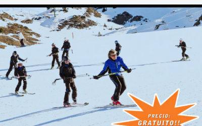 Curso de Telemark gratuito para padres y alumnos del Ski Camp – 5 y 6 de abril