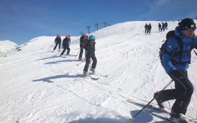 Els alumnes de Ski Camp s'inicien a Telemark
