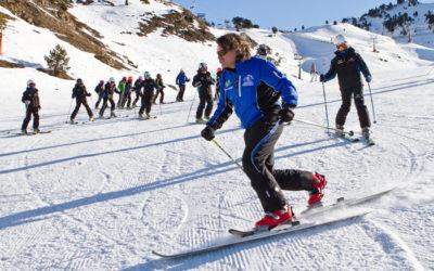 Clases de esquí y snowboard para el Puente de la Constitución en Baqueira y Beret
