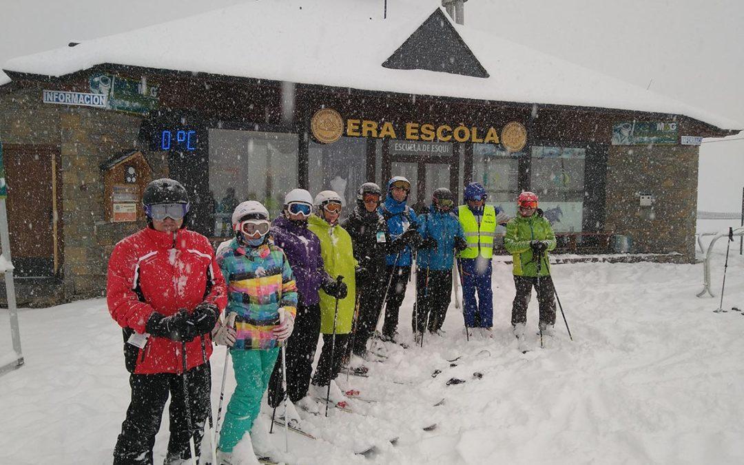 Esquí primavera en Baqueira