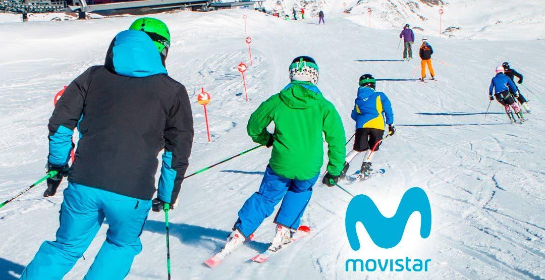 Consigue dos horas de clase de esquí o snowboard
