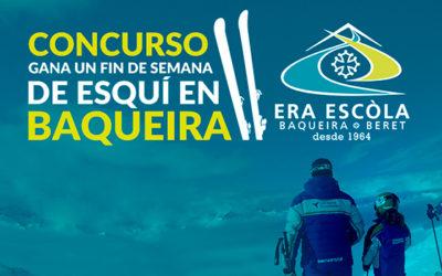 Concurso gana un fin de semana de esquí en Baqueira