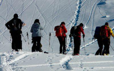 Esquiar en grupo, éxito asegurado