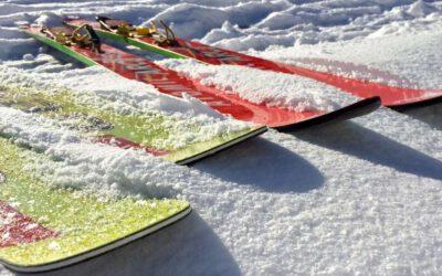 Como escoger esquís: tipos y usos