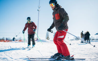 Nunca es tarde para aprender a esquiar