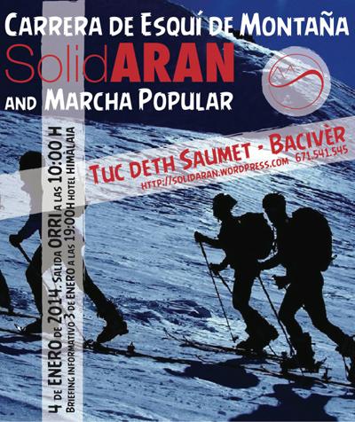 Carrera i Marxa Popular Esquí de Muntanya 13-14