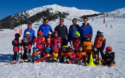 Ski camp commence Beret