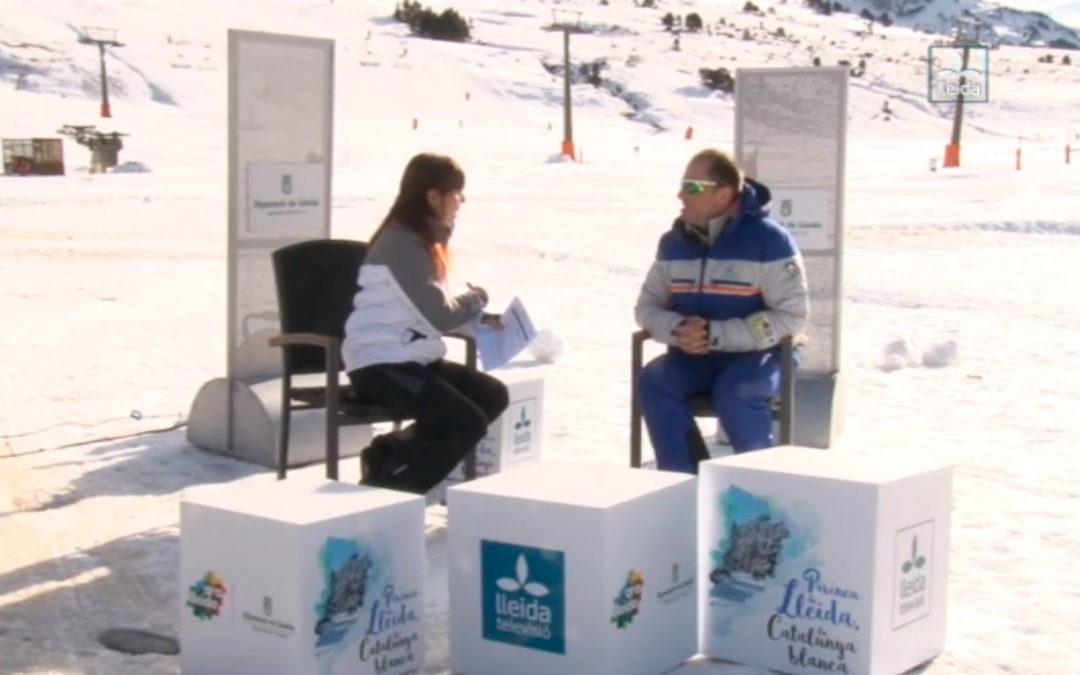 Interview with Jordi Arribas in Lleida TV